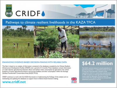 KAZA Pathways to climate resilient livelihoods in the KAZA TFCA thumbnail