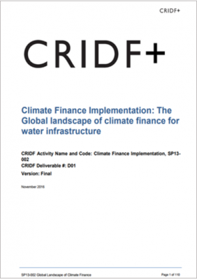 Global Climate Finance Review thumbnail