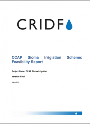 Climate Change Adaptation Project Sioma Irrigation Scheme: Feasibility Report thumbnail