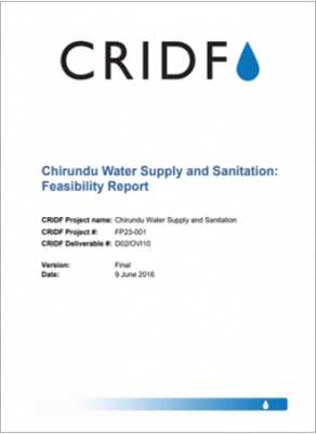 Chirundu Water Supply and Sanitation: Feasibility Report thumbnail