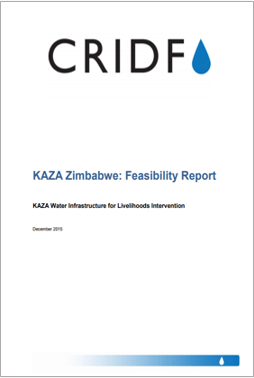 KAZA Zimbabwe Water Infrastructure for Livelihoods Intervention: Feasibility Report thumbnail