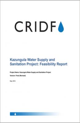 Kazungula Water Supply and Sanitation Project: Feasibility Report thumbnail