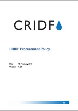 CRIDF Procurement Policy thumbnail