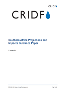 Southern Africa Projections and Impacts Guidance Paper thumbnail