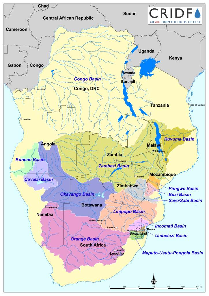 Congo Basin On Map Of Africa.Cridf Maps And Infographics Cridf