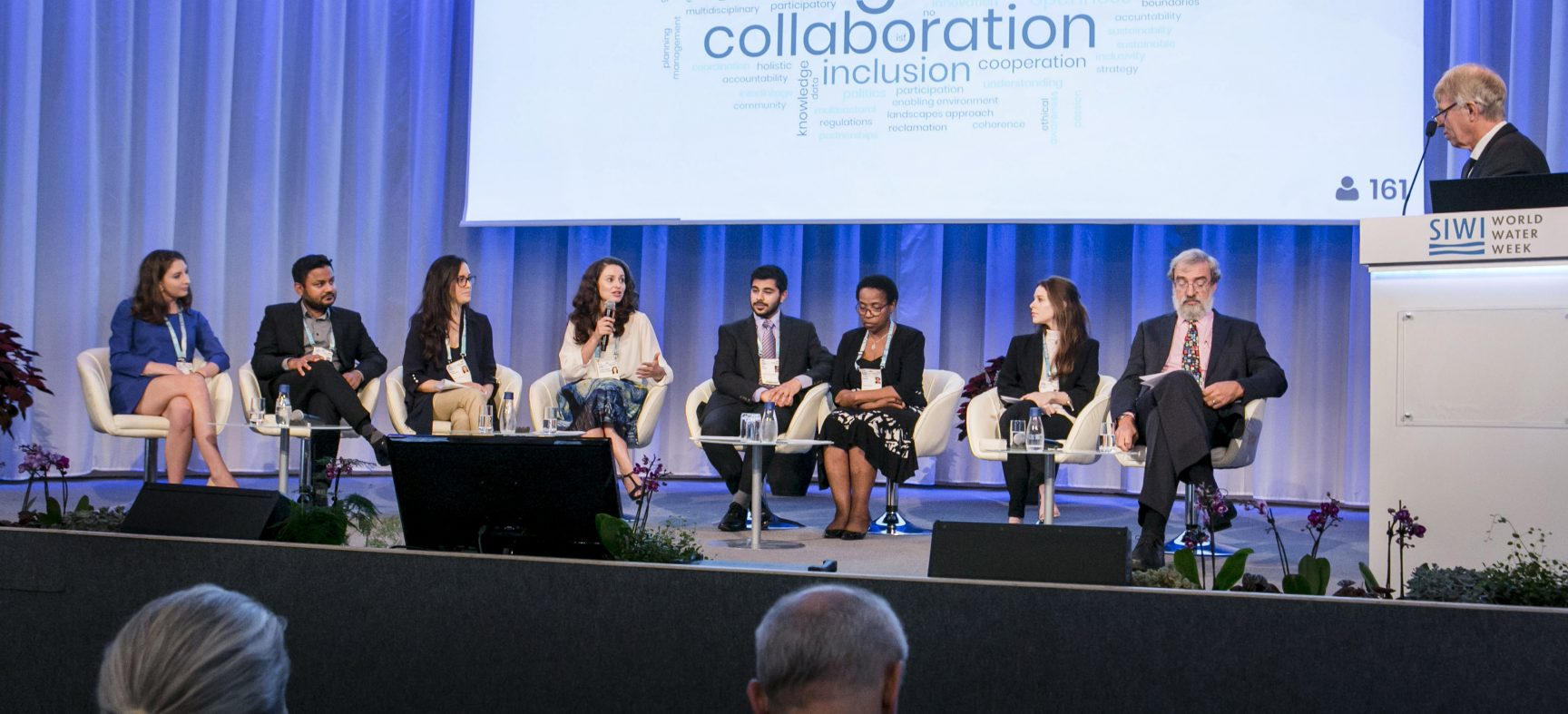 Talking ecosystems, infrastructure and people at World Water Week