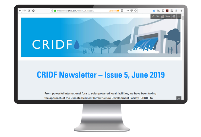 CRIDF Newsletter – Issue 5, 2019