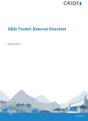 GESI External Checklist