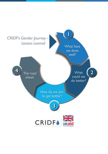 CRIDF's gender journey learnings pamphlet PDF