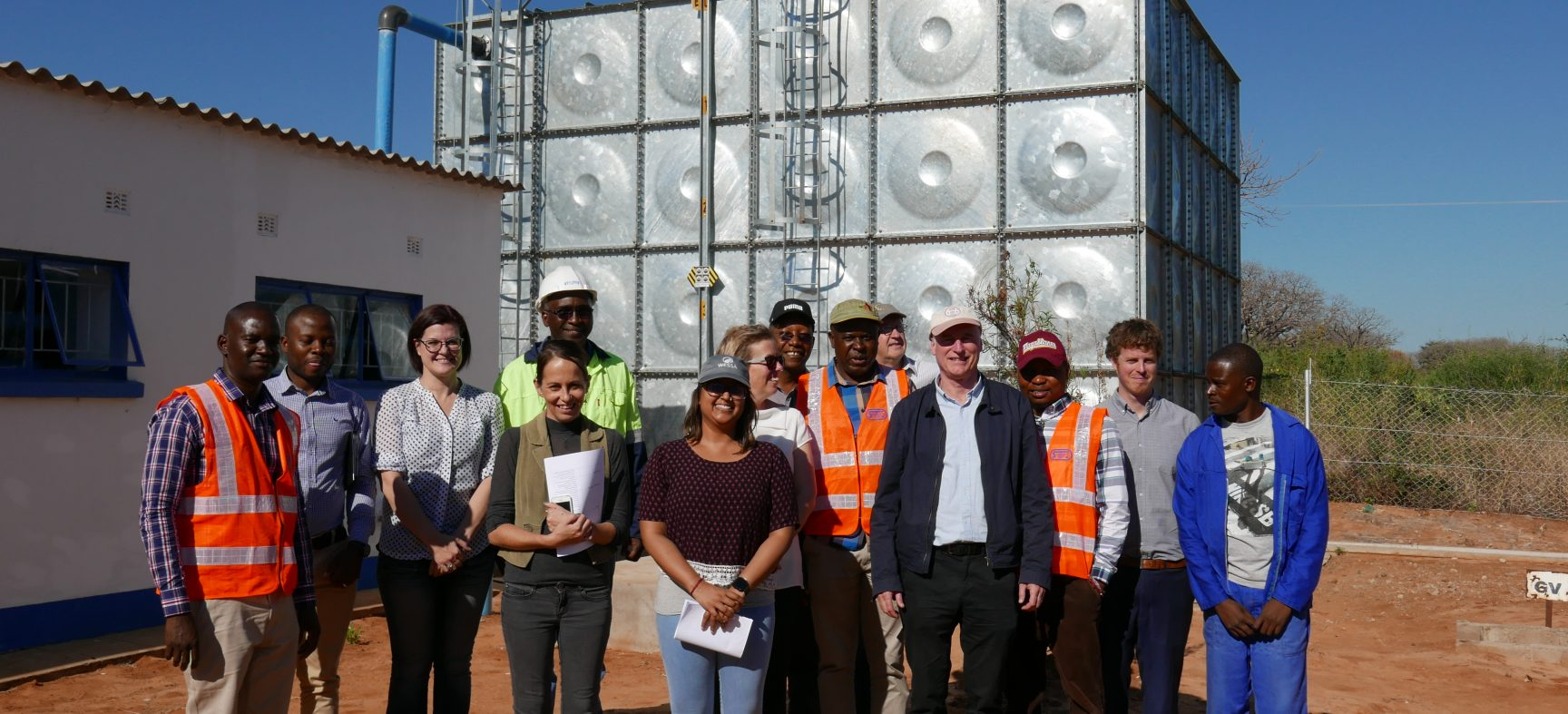 Bridging the gap in Zambia's water network