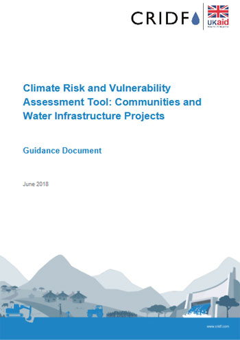 Climate risk and vulnerability assessment tool