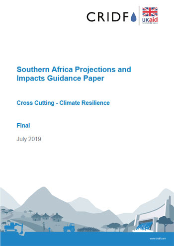 Southern Africa projections and impacts guidance paper
