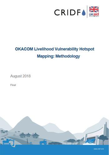 Livelihood vulnerability hotspot mapping methodology
