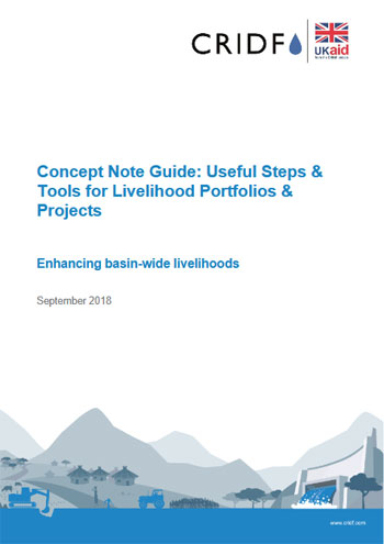 Developing livelihood concept note guide