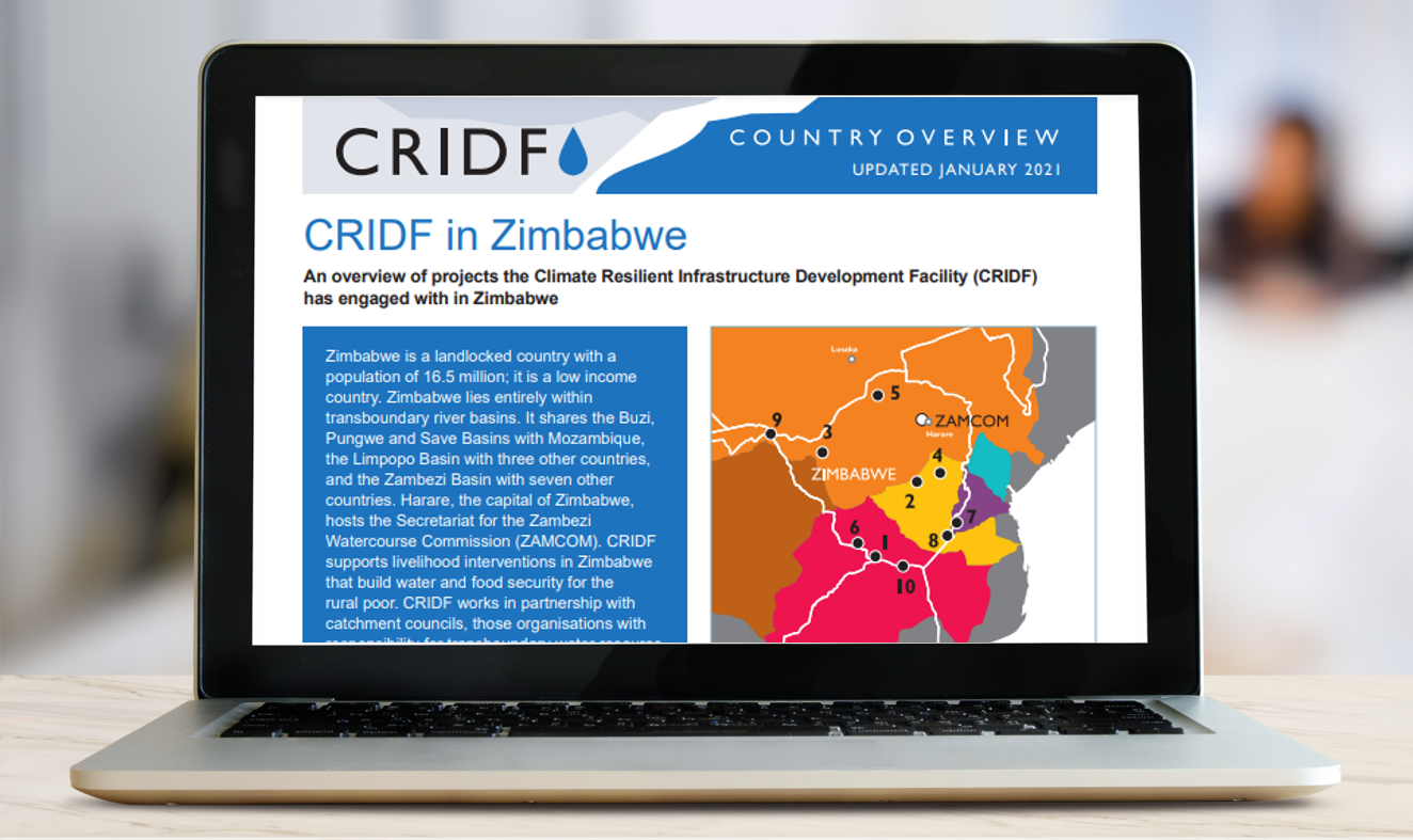 Highlighting the success of collaboration: CRIDF Country Overview series